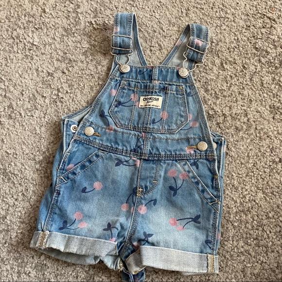 OshKosh toddler jeans romper